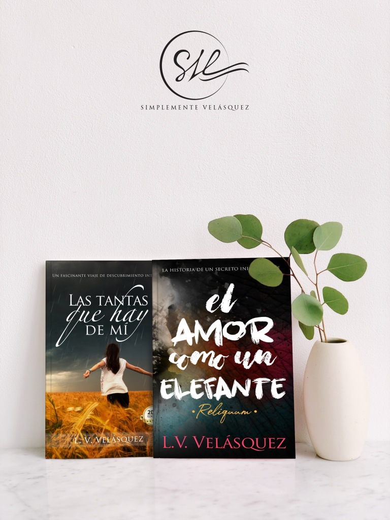 """Novelas sobre la mesa. Exhibicion elegante de """"Las tantas que hay de mí"""" y """"El amor como un elefante"""""""