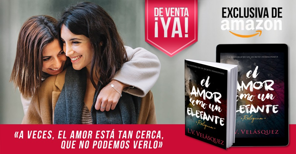 """lanzamiento de la novela LGBT """"El amor como un elefante"""""""
